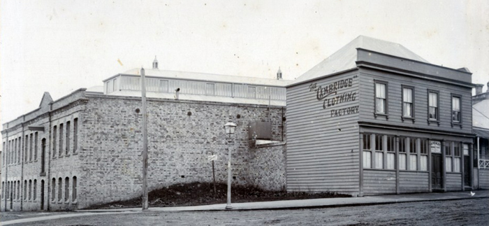 Cambridge Clothing Factory, Auckland 1892